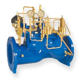Surge Anticipating on Rate of Rice of Pressure Relief Valve (106 / 206-RPS-RR)